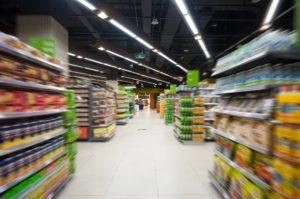 Oświetlenie LED dla sklepów spożywczych