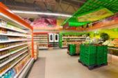 oświetlenie LED liniowe, supermarket, producent oświetlenia LED