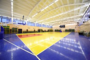LED lamps for sports facilities