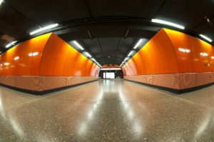 LED lamps for underground passages