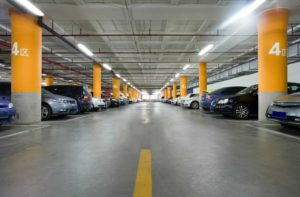 LED lamps for underground parking