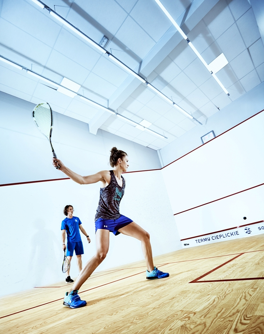 LED for squash courts
