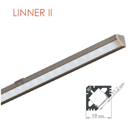 LED do gablot LINNER II
