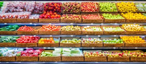 LED do warzyw i owoców