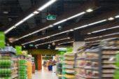 Oświetlenie sklepu spożywczego