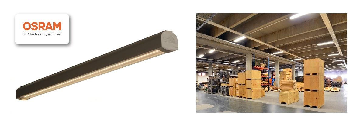 Lampa przemysłowa LED ledowa