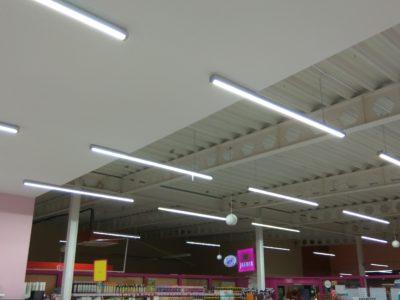 oświetlenie liniowe LED do supermarketów i sklepów spożywczych