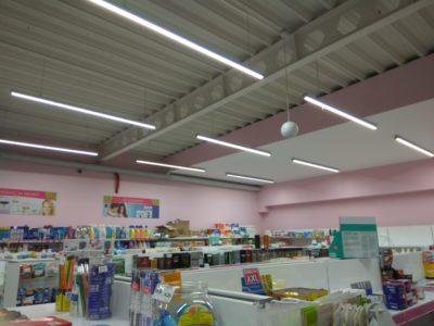 oprawa liniowa LED do supermarketów i sklepów