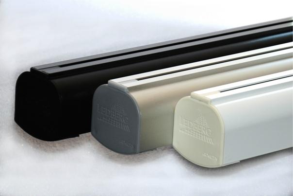 lampa LED AXION czarna biała szara