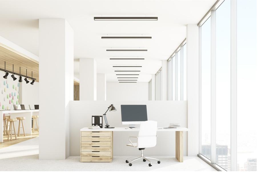 LED-Bürobeleuchtung, LED Pendelleuchte für das Büro