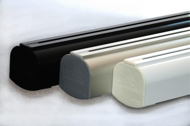 schwarz weiße LED-Lampe