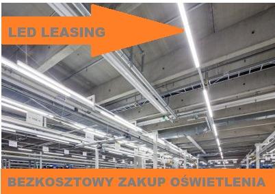 Oświetlenie LED leasing