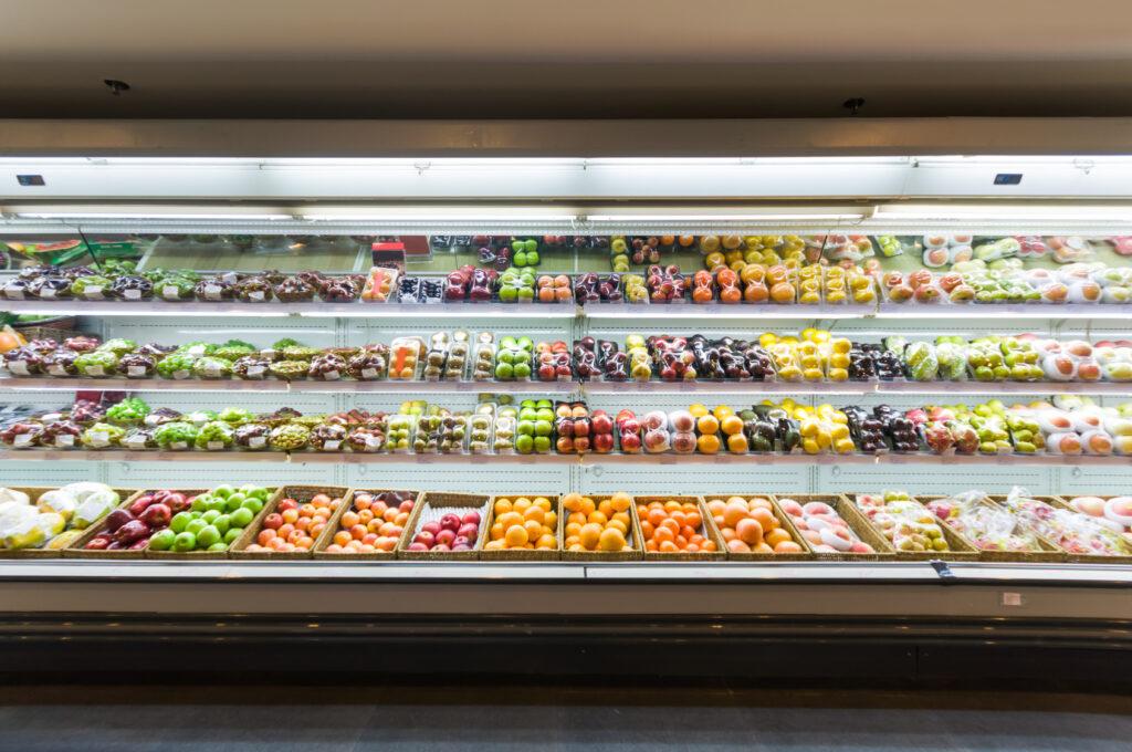 Oprawy oświetleniowe LED do warzyw i owoców
