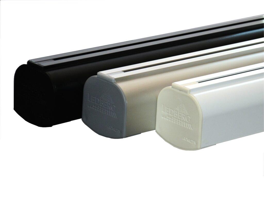 lampa LED AXION biurowa czarna biała szara