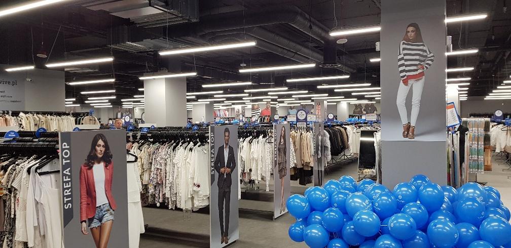 oświetlenie sklepu, lampy LED do sklepu, producent oświetlenia LED, oświetlenie sklepu odzieżowego